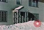 Image of doorway Alaska USA, 1955, second 5 stock footage video 65675034937