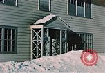 Image of doorway Alaska USA, 1955, second 9 stock footage video 65675034937