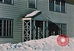 Image of doorway Alaska USA, 1955, second 11 stock footage video 65675034937