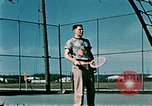 Image of tennis Elmendorf Air Force Base Alaska USA, 1954, second 2 stock footage video 65675034944