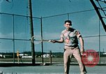 Image of tennis Elmendorf Air Force Base Alaska USA, 1954, second 4 stock footage video 65675034944