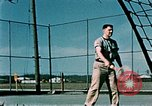 Image of tennis Elmendorf Air Force Base Alaska USA, 1954, second 5 stock footage video 65675034944