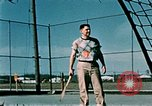 Image of tennis Elmendorf Air Force Base Alaska USA, 1954, second 6 stock footage video 65675034944