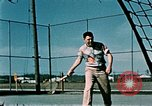 Image of tennis Elmendorf Air Force Base Alaska USA, 1954, second 7 stock footage video 65675034944