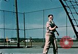 Image of tennis Elmendorf Air Force Base Alaska USA, 1954, second 8 stock footage video 65675034944