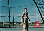 Image of tennis Elmendorf Air Force Base Alaska USA, 1954, second 9 stock footage video 65675034944