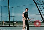Image of tennis Elmendorf Air Force Base Alaska USA, 1954, second 10 stock footage video 65675034944