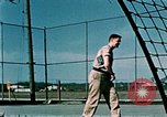 Image of tennis Elmendorf Air Force Base Alaska USA, 1954, second 11 stock footage video 65675034944