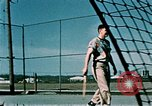 Image of tennis Elmendorf Air Force Base Alaska USA, 1954, second 12 stock footage video 65675034944