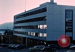 Image of four story factory Juneau Alaska USA, 1954, second 10 stock footage video 65675034947
