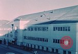 Image of building Elmendorf Air Force Base Alaska USA, 1954, second 4 stock footage video 65675034954