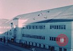Image of building Elmendorf Air Force Base Alaska USA, 1954, second 12 stock footage video 65675034954