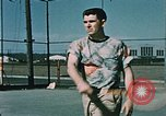 Image of military man Elmendorf Air Force Base Alaska USA, 1954, second 5 stock footage video 65675034957