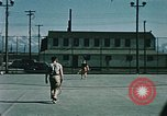 Image of military man Elmendorf Air Force Base Alaska USA, 1954, second 10 stock footage video 65675034957