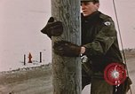 Image of linesman Elmendorf Air Force Base Alaska USA, 1954, second 7 stock footage video 65675034965