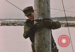 Image of linesman Elmendorf Air Force Base Alaska USA, 1954, second 11 stock footage video 65675034965