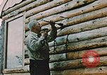 Image of Alaskan man Wasilla Alaska USA, 1953, second 6 stock footage video 65675034966