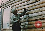 Image of Alaskan man Wasilla Alaska USA, 1953, second 8 stock footage video 65675034966
