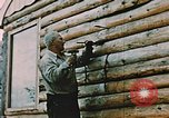 Image of Alaskan man Wasilla Alaska USA, 1953, second 12 stock footage video 65675034966