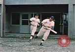 Image of baseball players Fort Richardson Alaska USA, 1954, second 8 stock footage video 65675034977