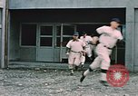 Image of baseball players Fort Richardson Alaska USA, 1954, second 9 stock footage video 65675034977
