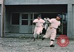 Image of baseball players Fort Richardson Alaska USA, 1954, second 10 stock footage video 65675034977