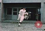 Image of baseball players Fort Richardson Alaska USA, 1954, second 12 stock footage video 65675034977