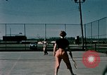 Image of tennis Elmendorf Air Force Base Alaska USA, 1954, second 4 stock footage video 65675034990