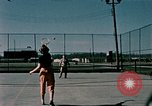 Image of tennis Elmendorf Air Force Base Alaska USA, 1954, second 6 stock footage video 65675034990