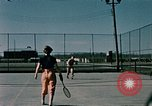 Image of tennis Elmendorf Air Force Base Alaska USA, 1954, second 7 stock footage video 65675034990