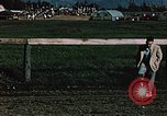 Image of horse race Palmer Alaska USA, 1953, second 7 stock footage video 65675034992