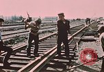 Image of workers Anchorage Alaska USA, 1953, second 4 stock footage video 65675034993