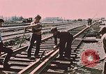 Image of workers Anchorage Alaska USA, 1953, second 5 stock footage video 65675034993