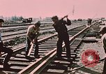 Image of workers Anchorage Alaska USA, 1953, second 6 stock footage video 65675034993