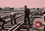 Image of workers Anchorage Alaska USA, 1953, second 7 stock footage video 65675034993