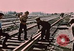 Image of workers Anchorage Alaska USA, 1953, second 8 stock footage video 65675034993