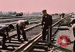 Image of workers Anchorage Alaska USA, 1953, second 9 stock footage video 65675034993