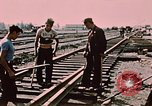 Image of workers Anchorage Alaska USA, 1953, second 11 stock footage video 65675034993