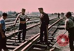 Image of workers Anchorage Alaska USA, 1953, second 12 stock footage video 65675034993