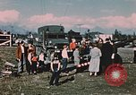 Image of Army man Palmer Alaska USA, 1953, second 8 stock footage video 65675034999