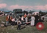 Image of Army man Palmer Alaska USA, 1953, second 9 stock footage video 65675034999