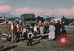 Image of Army man Palmer Alaska USA, 1953, second 12 stock footage video 65675034999