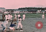 Image of baseball Palmer Alaska USA, 1953, second 3 stock footage video 65675035001