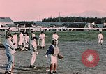 Image of baseball Palmer Alaska USA, 1953, second 5 stock footage video 65675035001