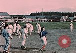 Image of baseball Palmer Alaska USA, 1953, second 7 stock footage video 65675035001