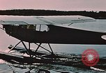 Image of L-21 aircraft Alaska USA, 1954, second 12 stock footage video 65675035003