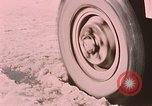 Image of wheel Alaska Elmendorf Air Force Base USA, 1954, second 7 stock footage video 65675035006
