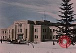 Image of Alaskan Command Headquarters Alaska Elmendorf Air Force Base USA, 1954, second 4 stock footage video 65675035007
