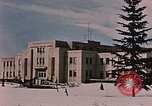 Image of Alaskan Command Headquarters Alaska Elmendorf Air Force Base USA, 1954, second 5 stock footage video 65675035007