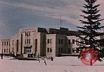 Image of Alaskan Command Headquarters Alaska Elmendorf Air Force Base USA, 1954, second 10 stock footage video 65675035007